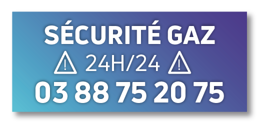 gaz logo securite